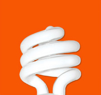 Bulb Light Orange